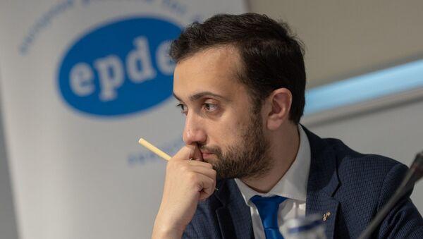 Даниел Иоаннесян на пресс-конференции по итогам выборов (10 декабря 2018). Еревaн - Sputnik Армения