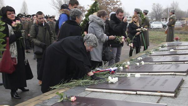 Церемония памяти сербских пилотов, разбившихся в Армении после землетрясения 1988 года - Sputnik Армения
