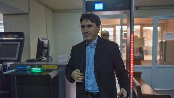 Армен Геворгян в здании суда общей юрисдикции административного района Нор Норк (13 декабря 2018). Еревaн - Sputnik Армения