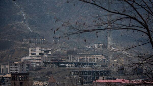 Алавердский медеплавильный завод группы компаний Валлекс, Лори - Sputnik Армения