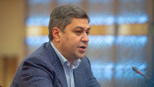 Пресс-конференции глава СНБ Армении Артура Ванецяна (15 декабря 2018). Цахкадзор - Sputnik Արմենիա