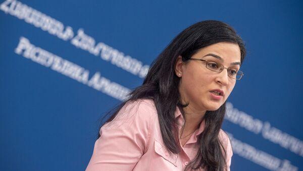 Пресс-конференция спикера МИД Армении Анны Нагдалян (20 декабря 2018). Еревaн - Sputnik Армения