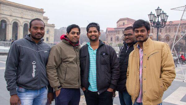 Группа индийских туристов - Sputnik Արմենիա