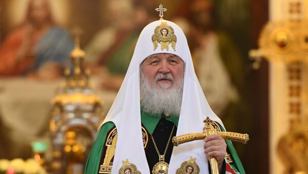 Патриарх Кирилл совершил божественную литургию с сестрами Милосердия - Sputnik Армения