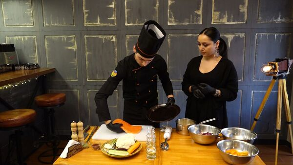 Հյուր շեֆ խոհարարին. ինչպես պատրաստել տապակած Իշխան - Sputnik Արմենիա