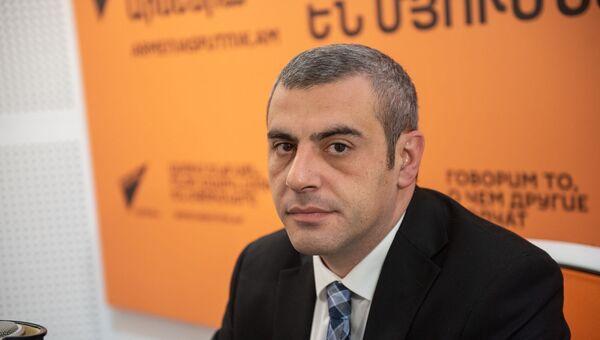 Замминистра экономического развития и инвестиций Армении Акоп Авакян - Sputnik Армения