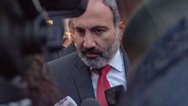 И.о. премьер-министра Никол Пашинян ответил на вопросы журналистов (7 января 2019). Еревaн - Sputnik Армения
