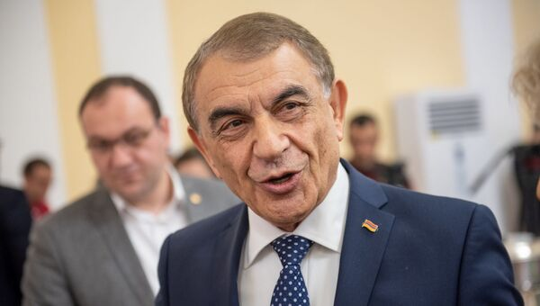 Ара Баблоян на приеме для прессы (11 января 2019). Еревaн - Sputnik Արմենիա