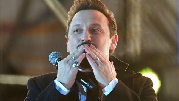 Выступление Стаса Михайлова на концерте на Манежной площади (18 марта 2018). Москвa - Sputnik Արմենիա