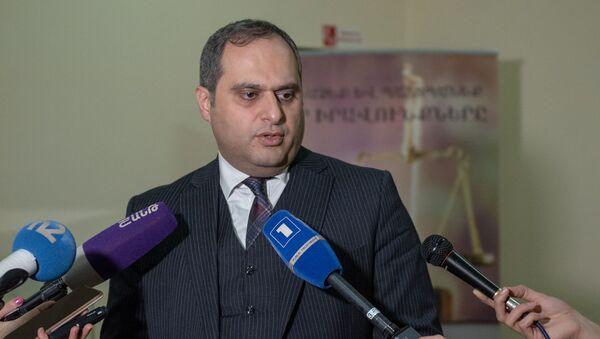 Глава палаты адвокатов Ара Зограбян - Sputnik Արմենիա