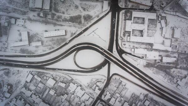 Дорожная развязка на Егвардском и Аштаракском шоссе - Sputnik Արմենիա