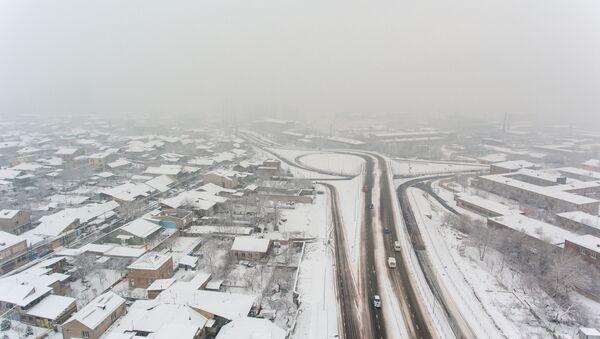 Дорожная развязка на Егвардском и Аштаракском шоссе - Sputnik Армения