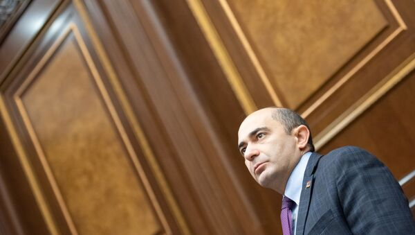 Эдмон Марукян на заседании Парламента (18 января 2019). Еревaн - Sputnik Արմենիա