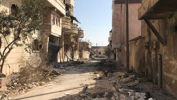 Последствия артобстрелов Африна в Сирии - Sputnik Армения