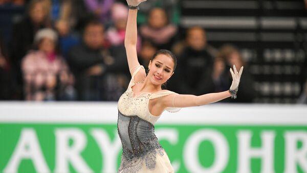 Алина Загитова на Чемпионате Европы в Минске - Sputnik Армения