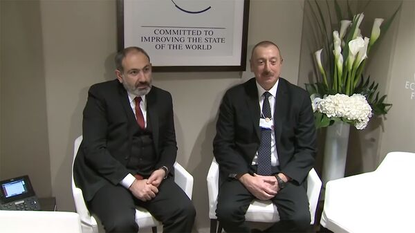 Նիկոլ Փաշինյանն ու Իլհամ Ալիևը - Sputnik Արմենիա