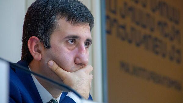 Пресс-конференция по вопросу возможного помилования Мгера Енокяна (24 января 2019). Еревaн - Sputnik Արմենիա