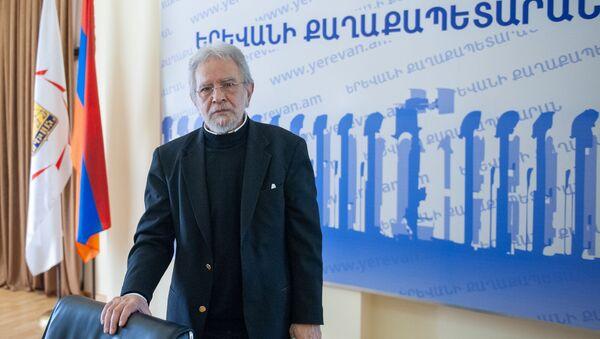 Пресс-конференция главного архитектора Еревaна Артура Месчяна (24 января 2019). Еревaн - Sputnik Արմենիա