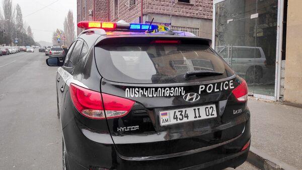 Автомобиль патрульной службы полиции Армении - Sputnik Արմենիա