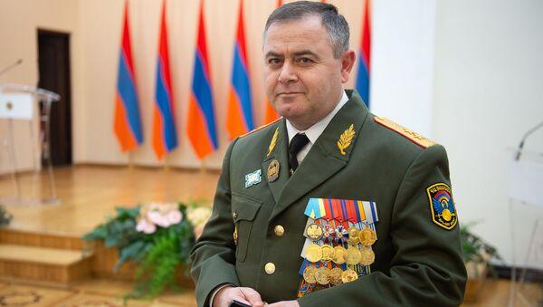Начальник Ген.Штаба ВС РА Артак Давтян во время церемонии награждения военнослужащих (28 января 2019). Еревaн - Sputnik Արմենիա
