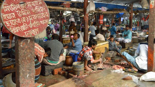 Рынок в Дакке, Бангладеш - Sputnik Արմենիա