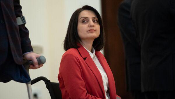 Члены правительства перед принятием присяги в резиденции президента Армении (30 января 2019). Еревaн - Sputnik Արմենիա