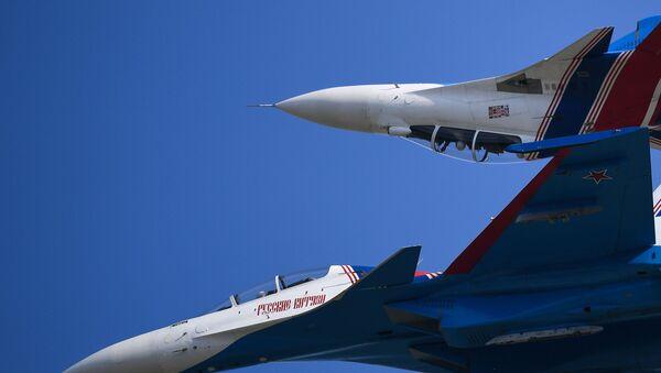 Истребитель Су-30СМ  - Sputnik Արմենիա