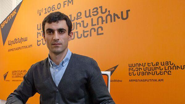Тарон Ованнисян - Sputnik Արմենիա