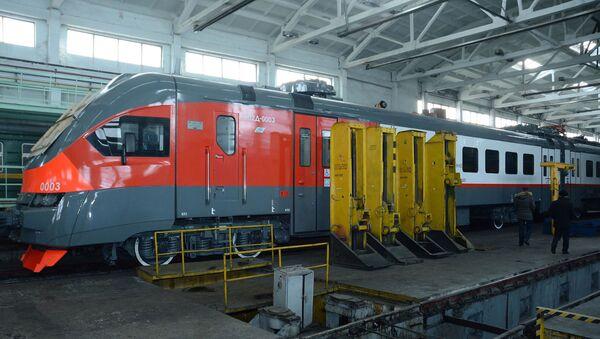 Модернизация подвижного состава Южно-кавказской железной дороги в Армении - Sputnik Армения
