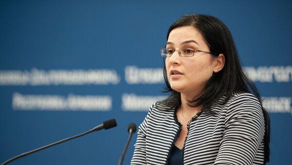 Анна Нагдалян - Sputnik Армения