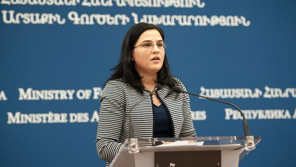 Анна Нагдалян - Sputnik Արմենիա