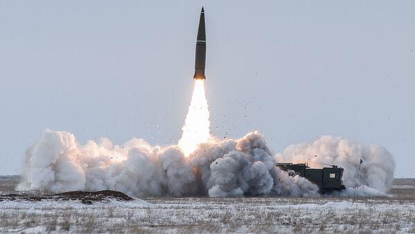 Пуск баллистической ракеты  - Sputnik Армения