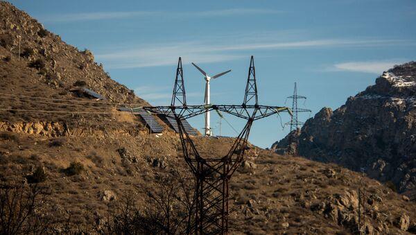 Ветряная электростанция Арац у города Каджаран - Sputnik Армения
