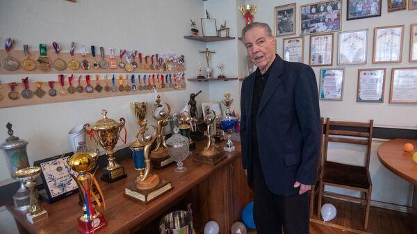 Альберт Азарян в день своего 90-летия (11 февраля 2019). Еревaн - Sputnik Армения