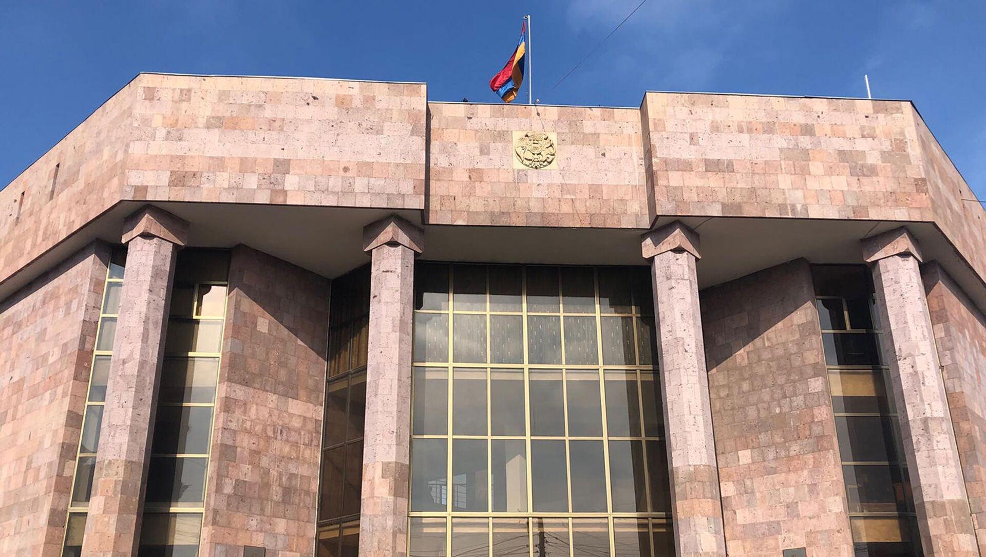 Здание суда общей юрисдикции Ширакской области - Sputnik Արմենիա, 1920, 03.02.2021