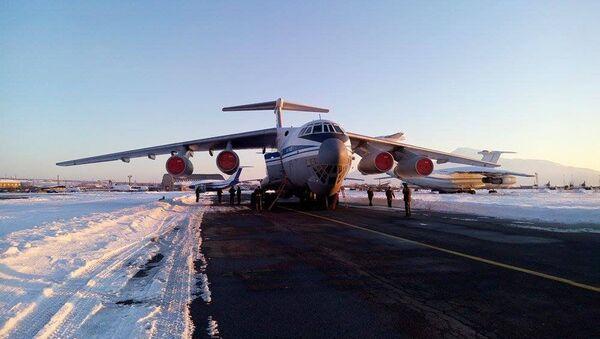 Ил-76 с гуманитарным грузом для Сирии - Sputnik Армения