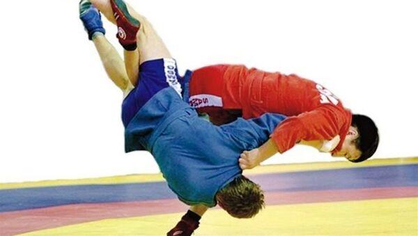 В Ереване прошел чемпионат по самбо среди военнослужащих России и Армении - Sputnik Армения