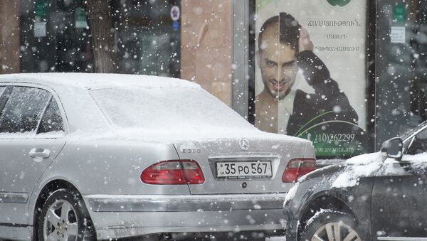 Зима в Армении - Sputnik Армения