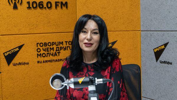 Наира Зограбян в гостях радио Sputnik - Sputnik Արմենիա