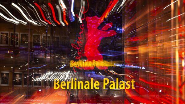 Вход в Театр на Потсдамской площади, место проведения 69-го Берлинского кинофестиваля Берлинале - 2019. - Sputnik Արմենիա