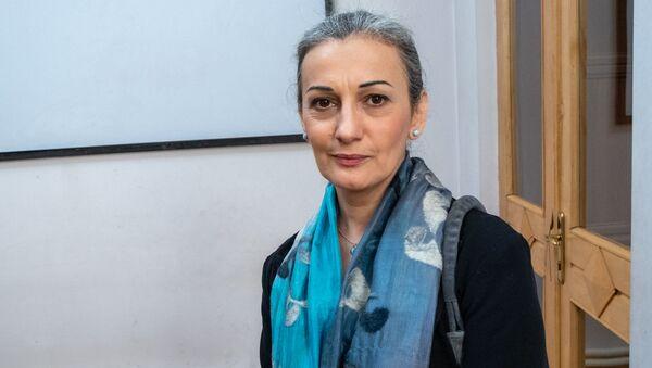 И.о. министра культуры Назени Гарибян - Sputnik Արմենիա