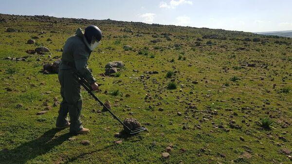 Армянские саперы в Сирии - Sputnik Армения