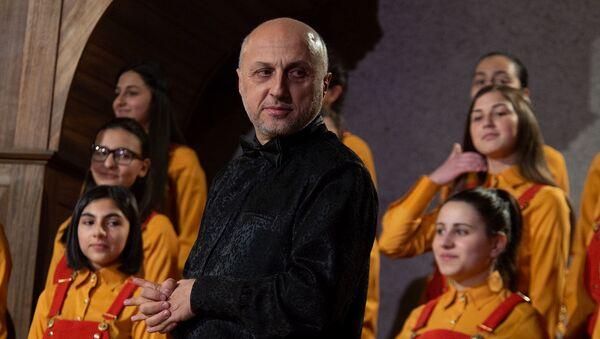 Концерт хора Маленькие певцы Армении (14 декабря 2015). Еревaн - Sputnik Արմենիա