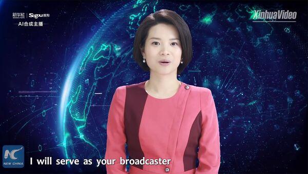 Первая в мире виртуальная женщина-диктор - Sputnik Արմենիա