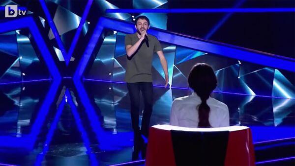 Выступление Сергея Вардеваряна на слепых прослушиваниях шоу Голос Болгарии - Sputnik Армения
