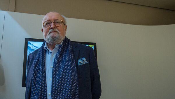 Польский композитор и дирижёр Кшиштоф Пендерецкий в Армении - Sputnik Արմենիա