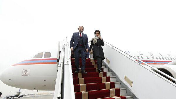 Официальный визит премьер-министра Армении Никола Пашиняна в Иран (27 февраля 2019). Тегеран - Sputnik Արմենիա