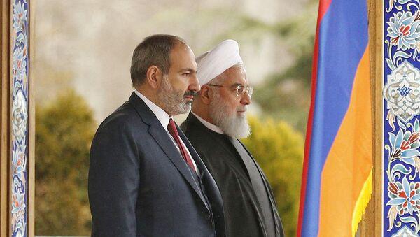Официальный визит премьер-министра Армении Никола Пашиняна в Иран (27 февраля 2019). Тегеран - Sputnik Армения