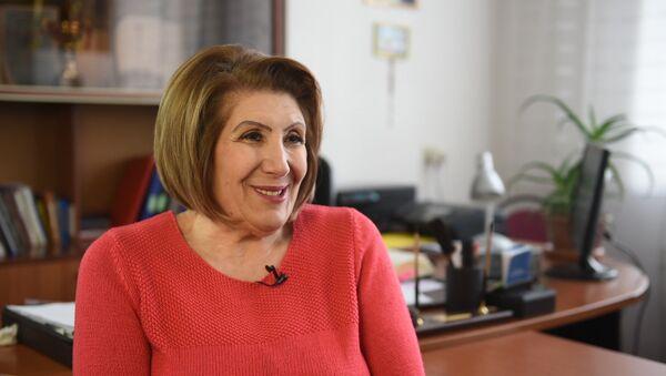 Директор дома-интерната Трчунян Тун Соня Симонян - Sputnik Армения