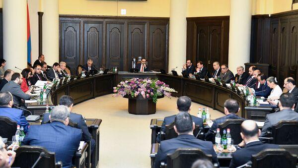 Заседаниe правительства Армении (28 февраля 2019). Еревaн - Sputnik Армения